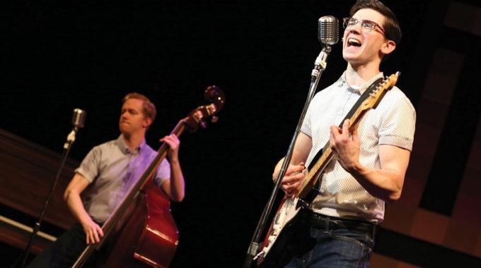 Buddy Holly Story Will Never Fade Away At Bucks County Playhouse